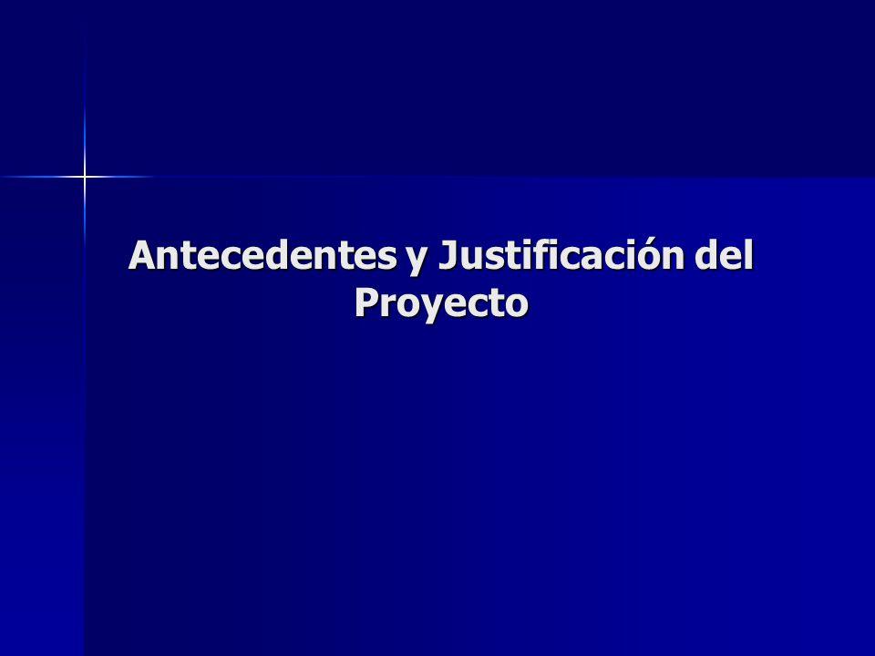 Antecedentes y Justificación del Proyecto