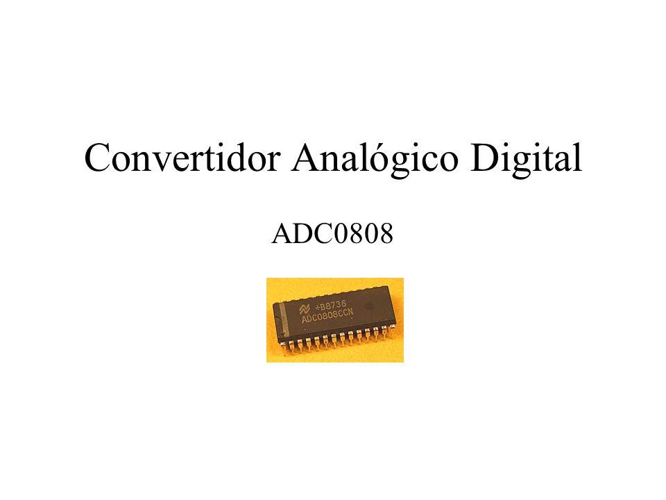 Convertidor Analógico Digital ADC0808