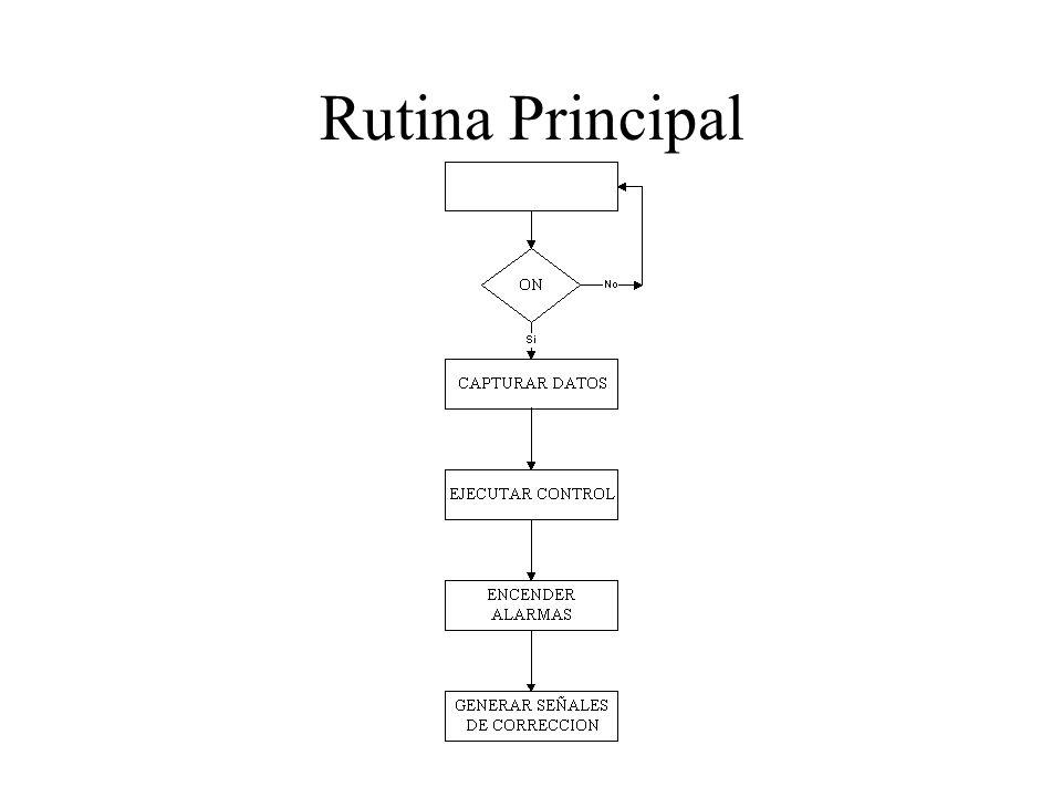 Rutina Principal