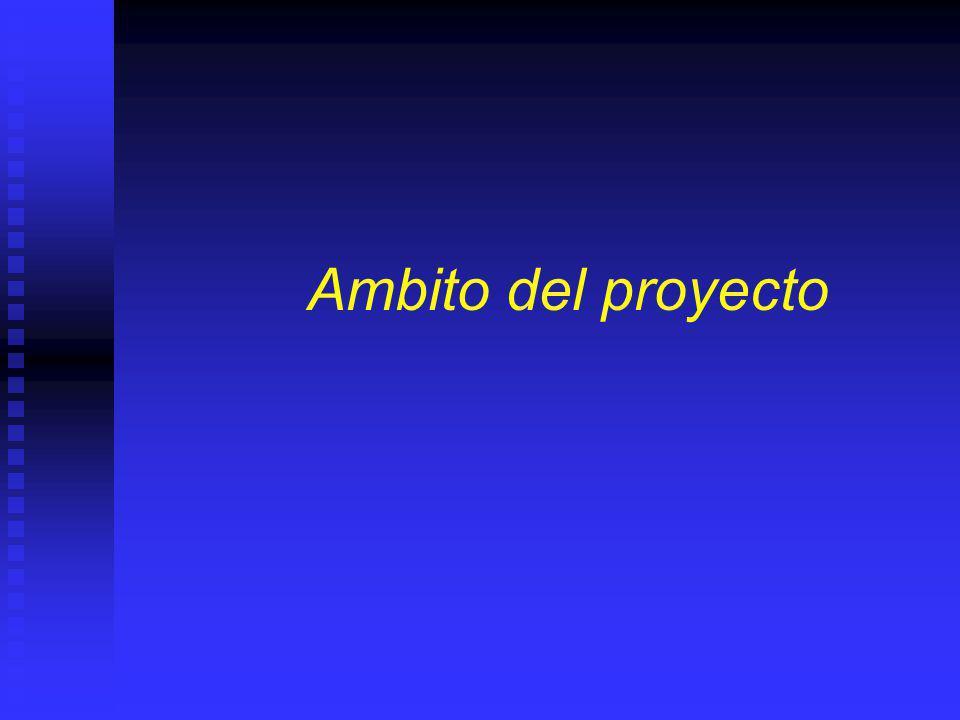 Elementos de la lógica del proyecto Ambito Ambito ¿Dónde impacta el proyecto? ¿Dónde impacta el proyecto? Actores o Stakeholders Actores o Stakeholder
