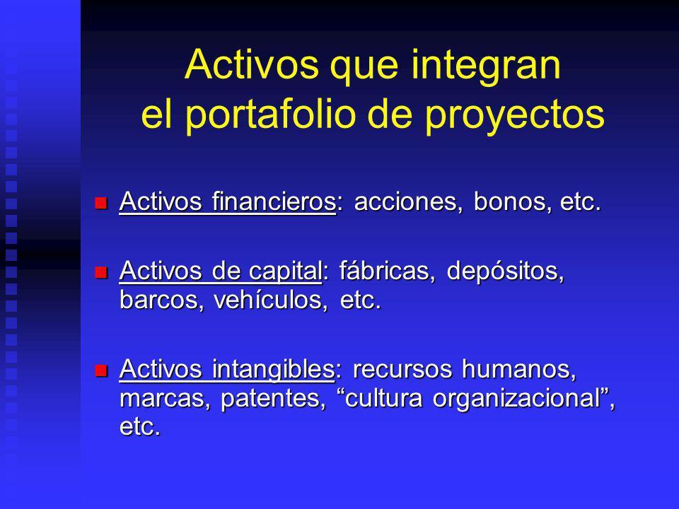 La organización como administradora de portafolios Todas las organizaciones están en el mismo negocio: Todas las organizaciones están en el mismo nego