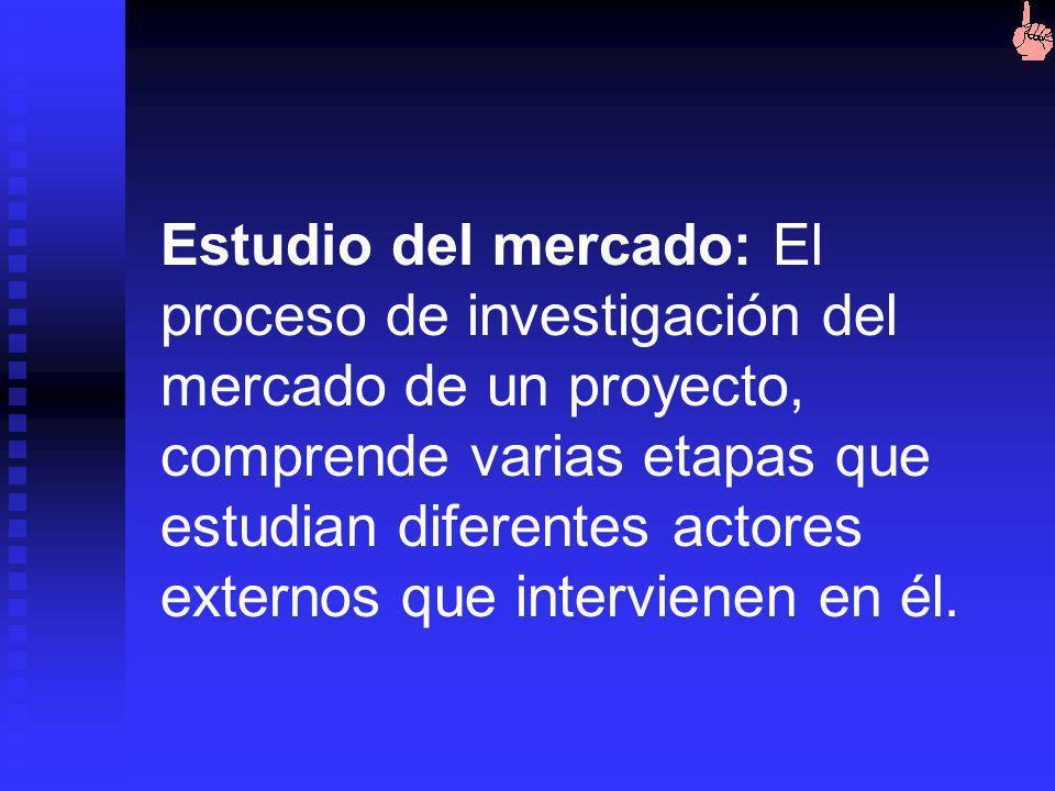 Estudios de Viabilidad Comercial y Mercado (cont. III) Estudio de políticas de comercialización Estudio de políticas de comercialización Canales de di