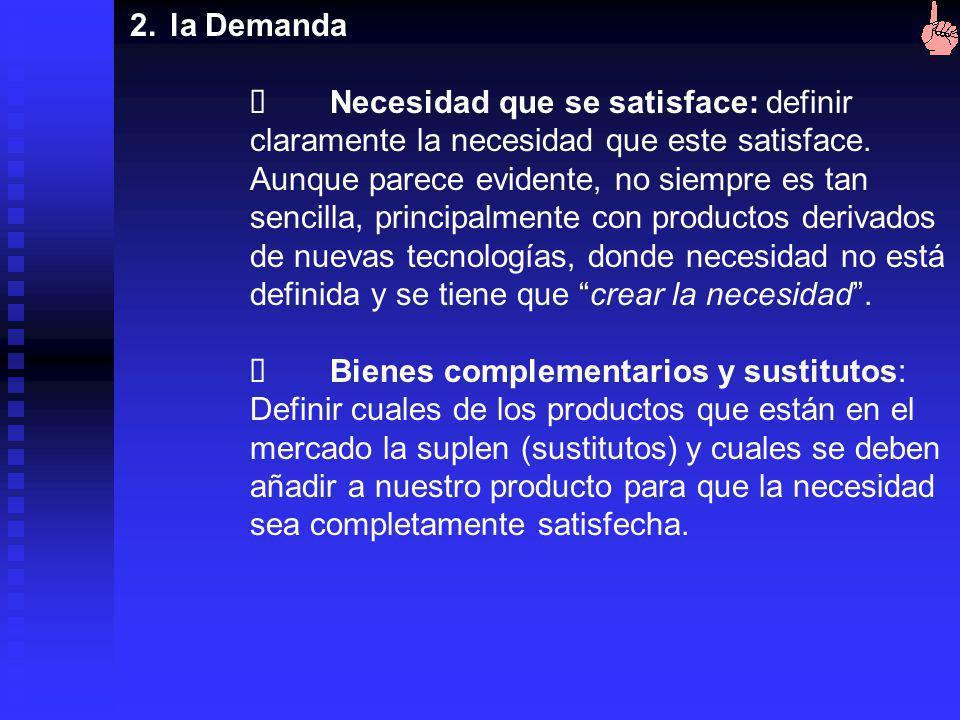 1.Definición del producto Composición (¿Qué es?): Aquí es importante definir qué es el producto, y para ello se analizan los elementos del producto y