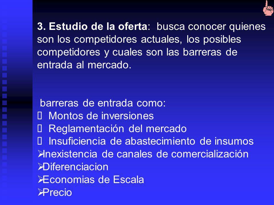 Mercado Potencial Mercado Objetivo Participación en el mdo.