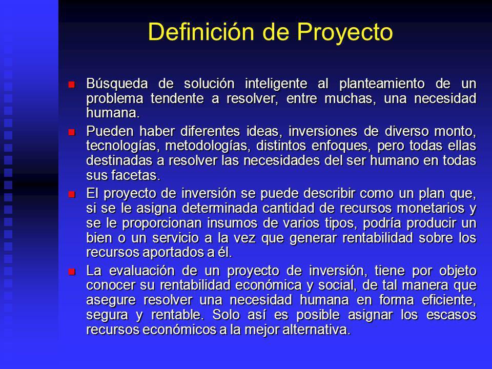 La Planeación Como Herramienta de Toma de Decisiones (cont. II) Además de la decisión de ejecutar o no un proyecto, la fase de evaluación nos brinda l