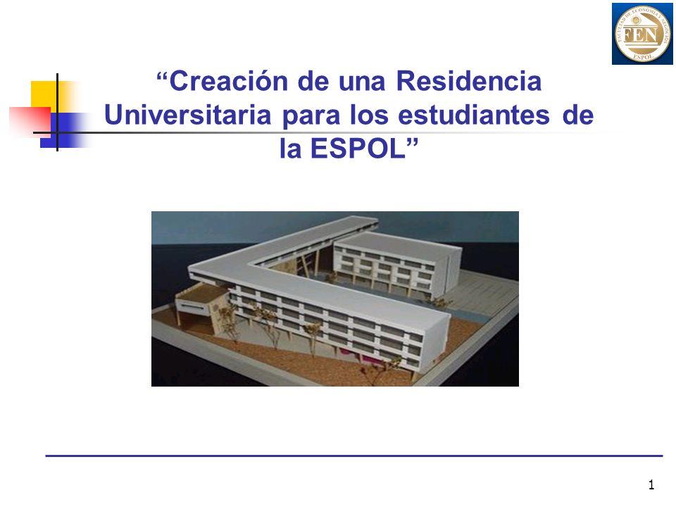 1 Creación de una Residencia Universitaria para los estudiantes de la ESPOL