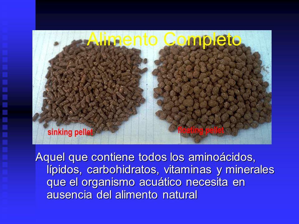 Alimentación Cuando la biomasa de organismos está utilizando todo el alimento natural presente y la capacidad de carga se ha alcanzado, un incremento