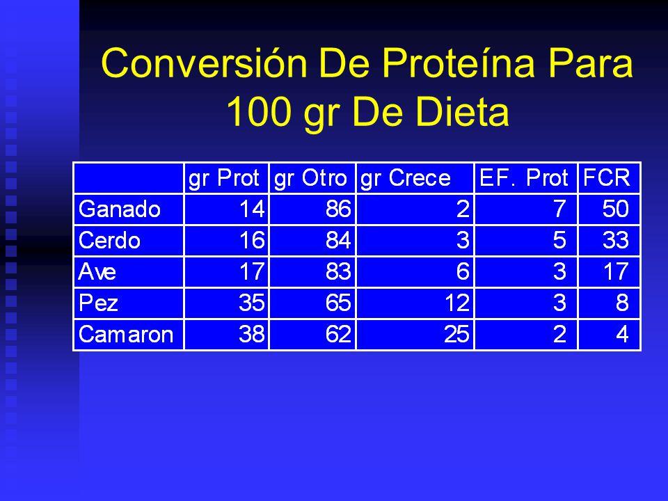 Nivel 5: Alimentación Intensiva Comida de alta calidad pero no necesaria- mente completa.