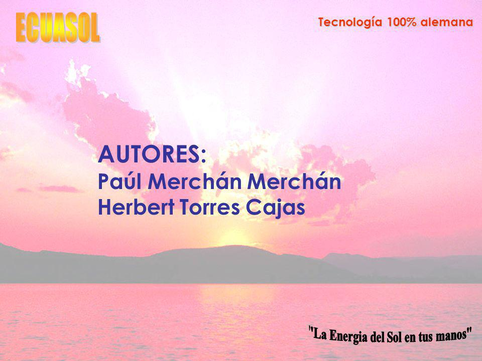 AUTORES: Paúl Merchán Merchán Herbert Torres Cajas