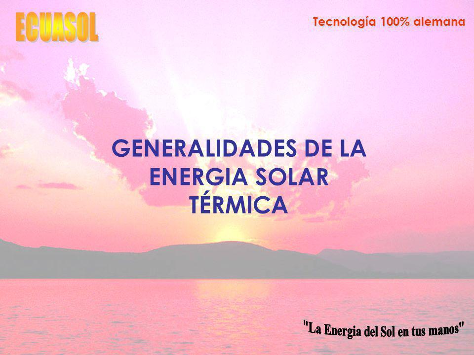 Tecnología 100% alemana Investigación de Mercado Cuantitativa Descripción de la Muestra Determinar: Nivel de aceptación de los colectores solares de agua.