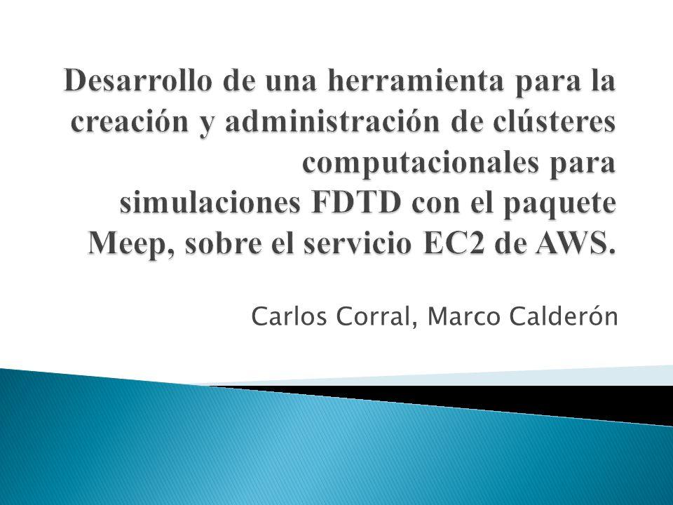 Carlos Corral, Marco Calderón