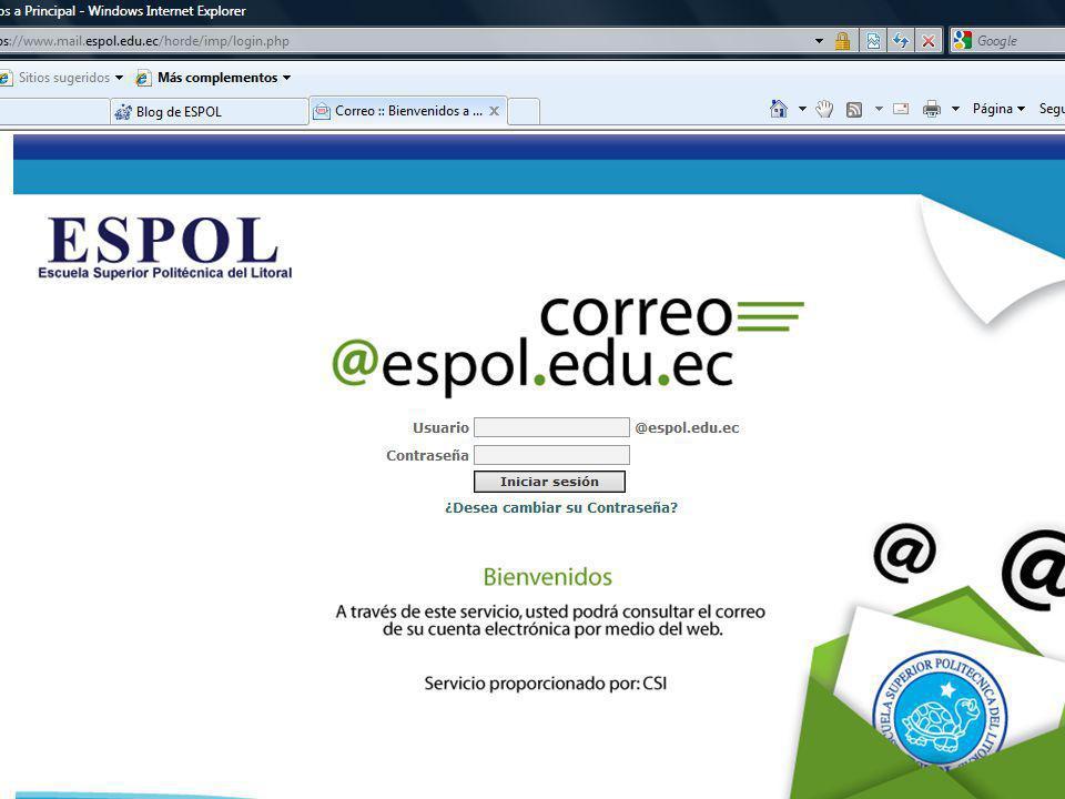 Guayaquil, febrero de 2009 27 Creación y Gestión de Blogs en ESPOL