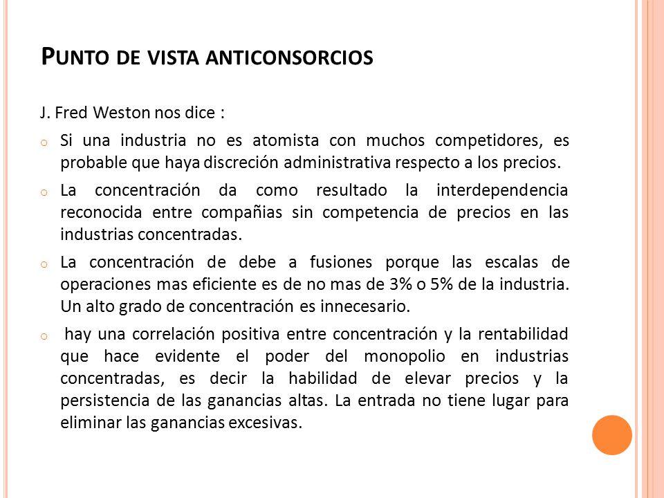 P UNTO DE VISTA ANTICONSORCIOS J.