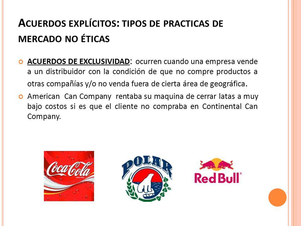 P UNTO DE VISTA ANTICONSORCIOS o La concentración se grava por la diferenciación de productos y publicidad.