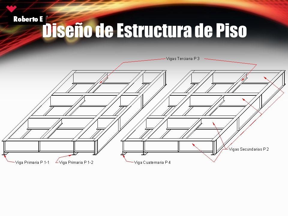 Diseño de Estructura de Piso Roberto E
