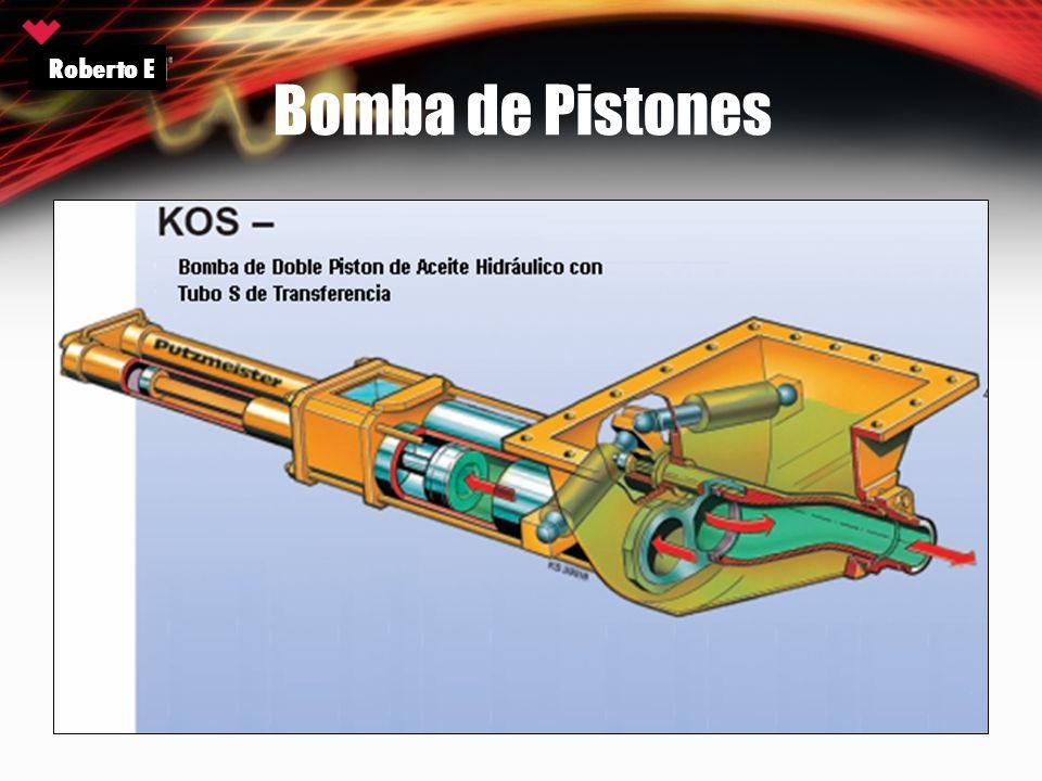 Bomba de Pistones Roberto E