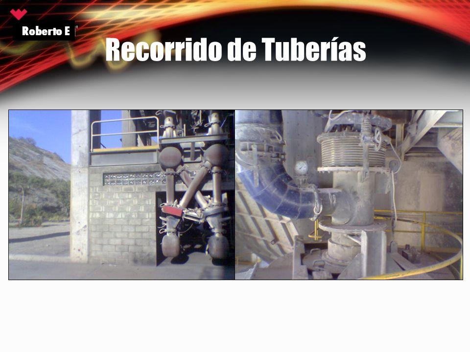 Recorrido de Tuberías Roberto E