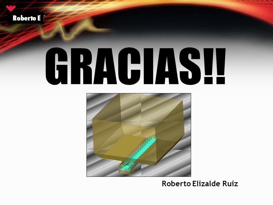 GRACIAS!! Roberto E Roberto Elizalde Ruiz