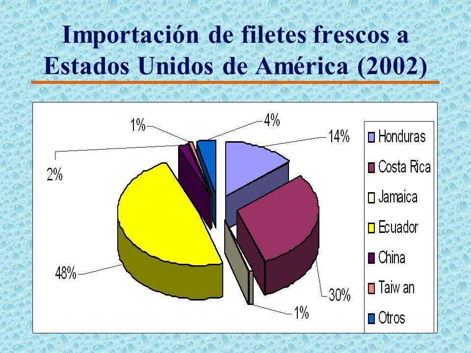 Proveedores de Tilapia a los Estados Unidos