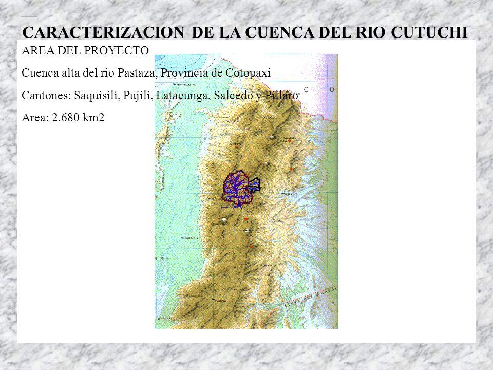 Proyecto Piloto Manejo integral de los recursos hídricos y Tratamiento de las aguas servidas – Cuenca del río Cutuchi cnrh ####################### Gob