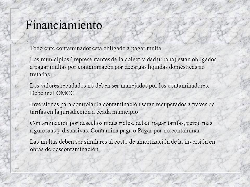 PRESUPUESTO: $.12 Recuperables x tarifas (inversiones) n Contaminación: US$.