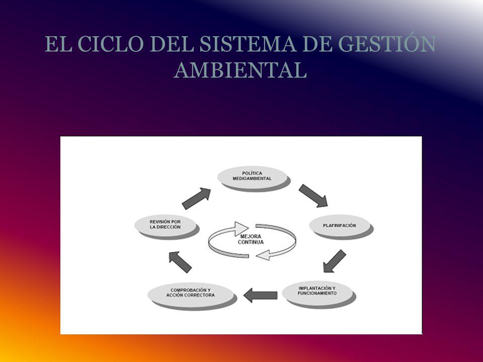 EL CICLO DEL SISTEMA DE GESTIÓN AMBIENTAL