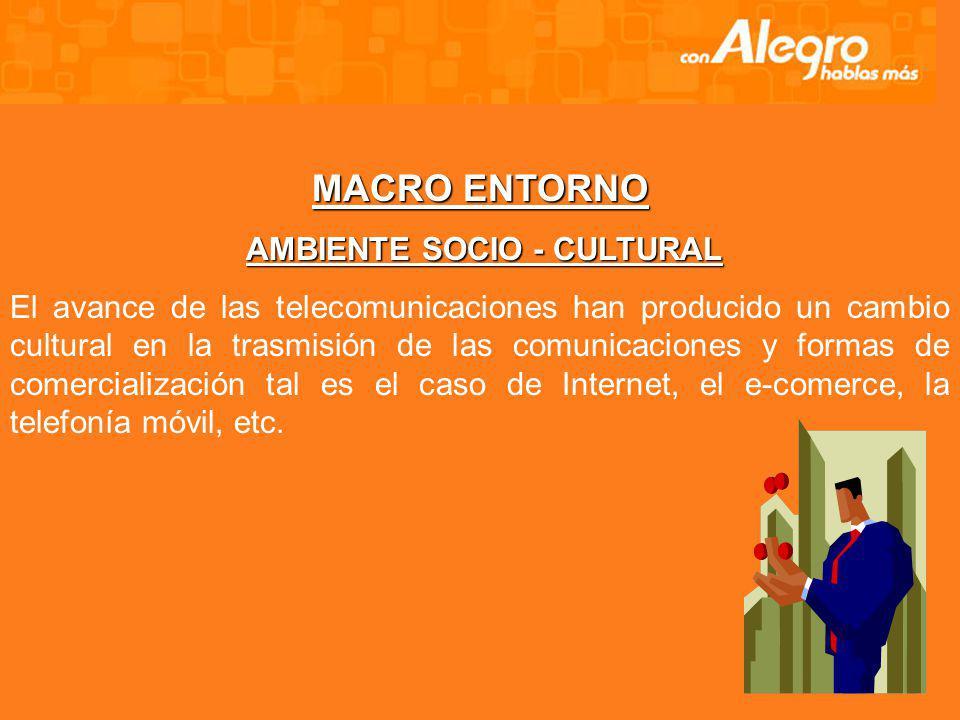 Abonados hasta Marzo del 2005 Servicio móvil Avanzado - TELECSA - ALEGRO PCS Total: 140.640 abonados (PREPAGO: 112.874 abonados - POSTPAGO: 27.766 abo