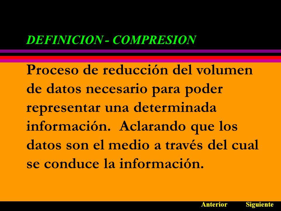COMPRESION PARA IMÁGENES FIJAS ESTANDARES DE COMPRESION: ESTANDARES DE COMPRESION: JBIG - ESTRUCTURA AnteriorOpciones Normas de adaptación: Busca frecuencias de medio tono y si existen aumenta la compresión.
