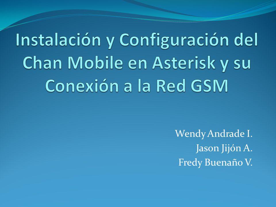 Software Chan Mobile Versiones: chan_bluetooth -> chan_cellphone -> chan_mobile Disponible vía SVN y en la versión 1.6.x de Asterisk.