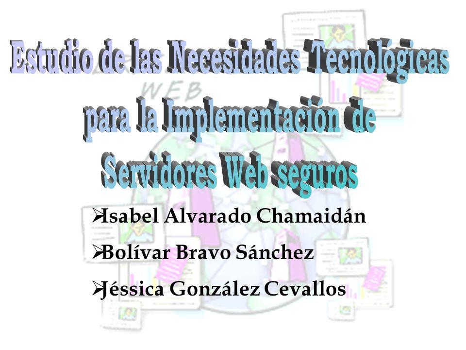 Isabel Alvarado Chamaidán Bolívar Bravo Sánchez Jéssica González Cevallos