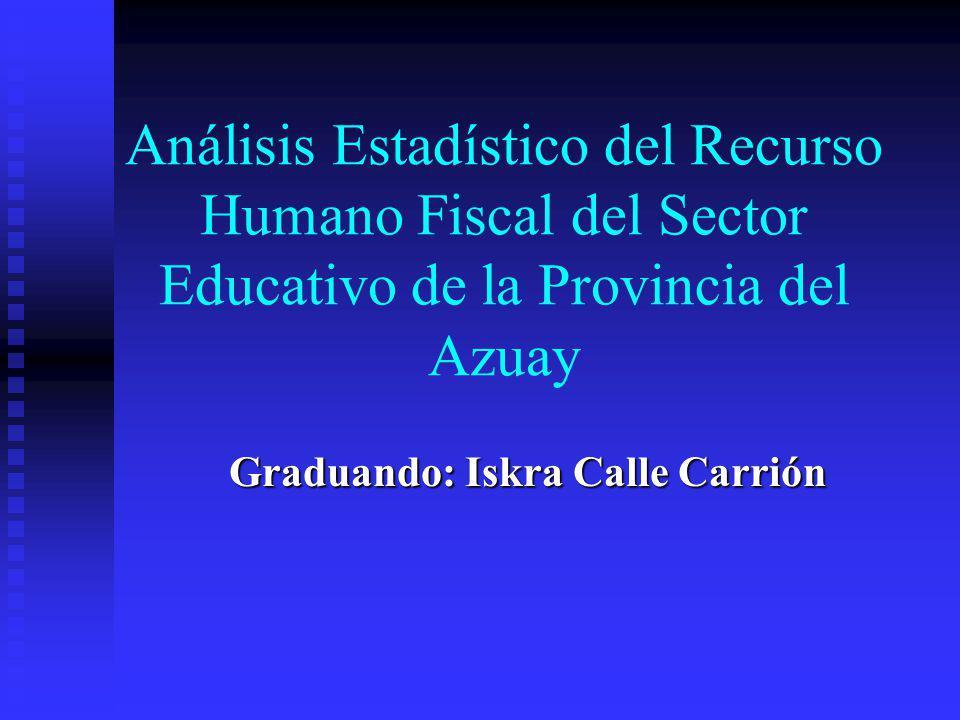 Antecedentes Un componente esencial del sistema educativo ecuatoriano está representado por el Magisterio Fiscal y los Servidores Públicos del Ministerio de Educación y Cultura.
