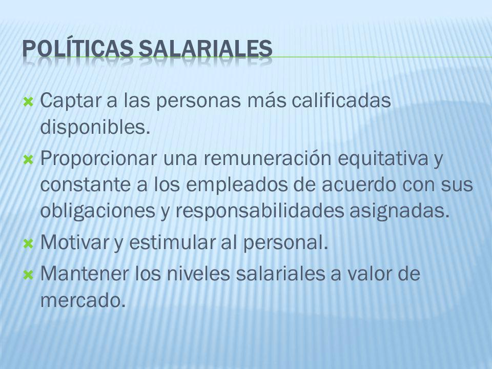 Captar a las personas más calificadas disponibles.