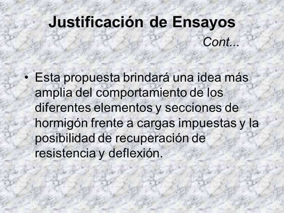 Justificación de Ensayos Como solución a estos inconvenientes, se decidió trabajar con elementos prefabricados proporcionados por la empresa PRECRETO