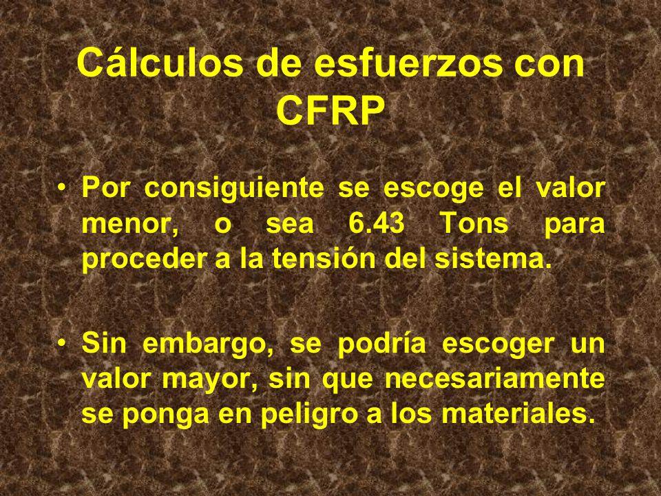 CFRP, Fibra Inferior: