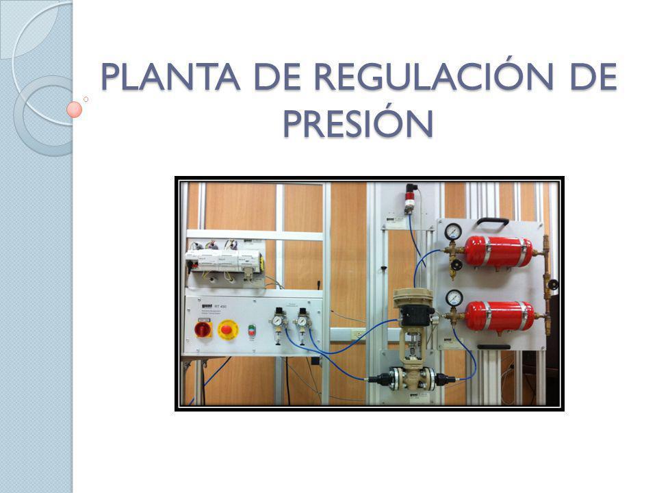 PLANTA DE REGULACIÓN DE PRESIÓN