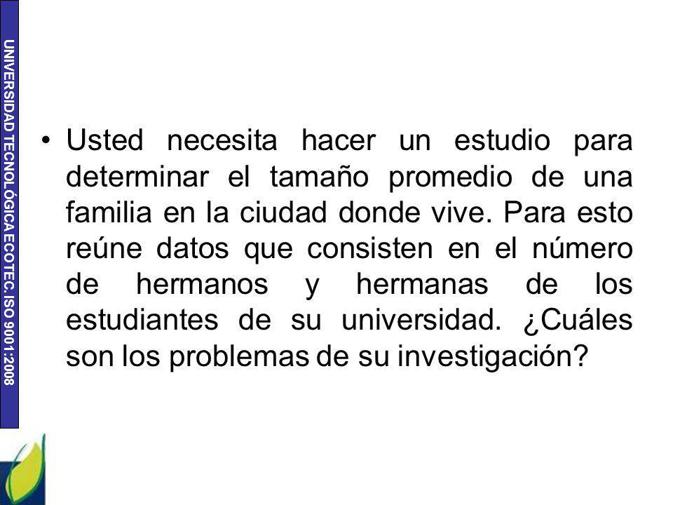 UNIVERSIDAD TECNOLÓGICA ECOTEC.