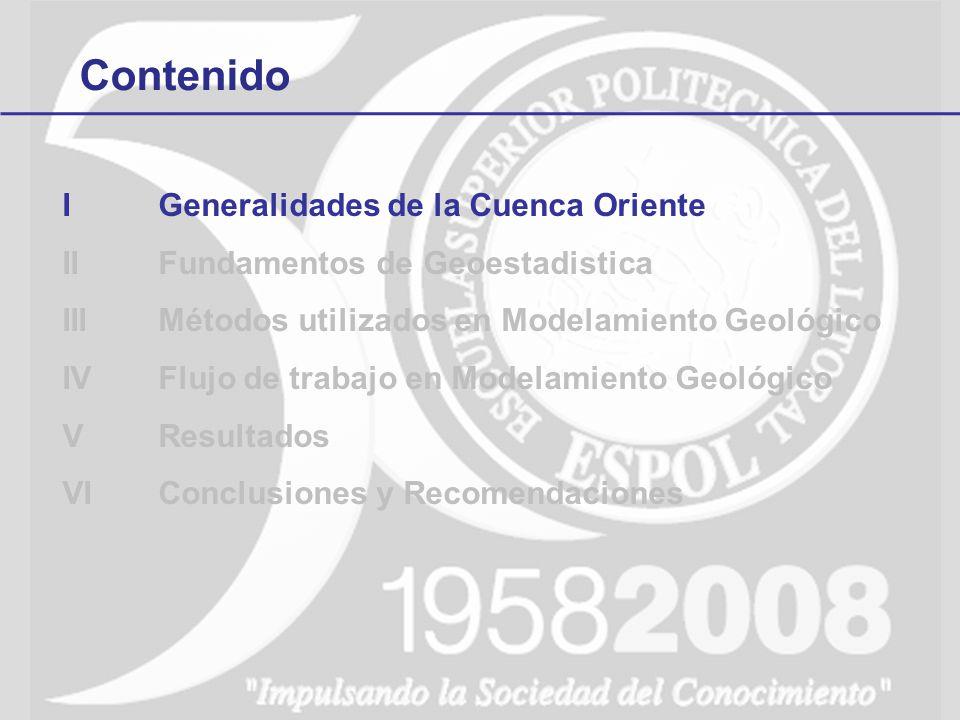 1Generalidades de la Cuenca Oriente La Cuenca Oriente es una cuenca de ante-país.