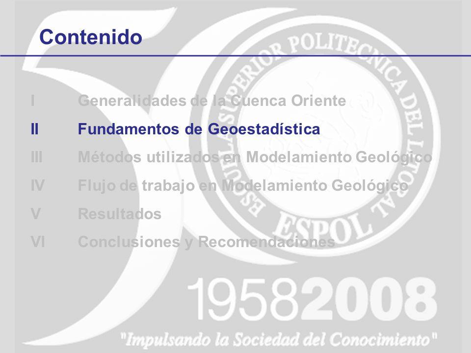 4Flujo en Modelamiento Geológico Generación del modelo tridimensional Control de calidad Búsqueda de tendencias o anomalías