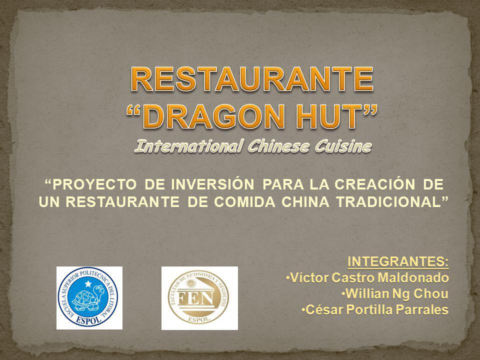 La publicidad de DRAGON HUT se transmitirá a través de los siguientes medios de comunicación: Mediante convenios con programas televisivos de cocina.