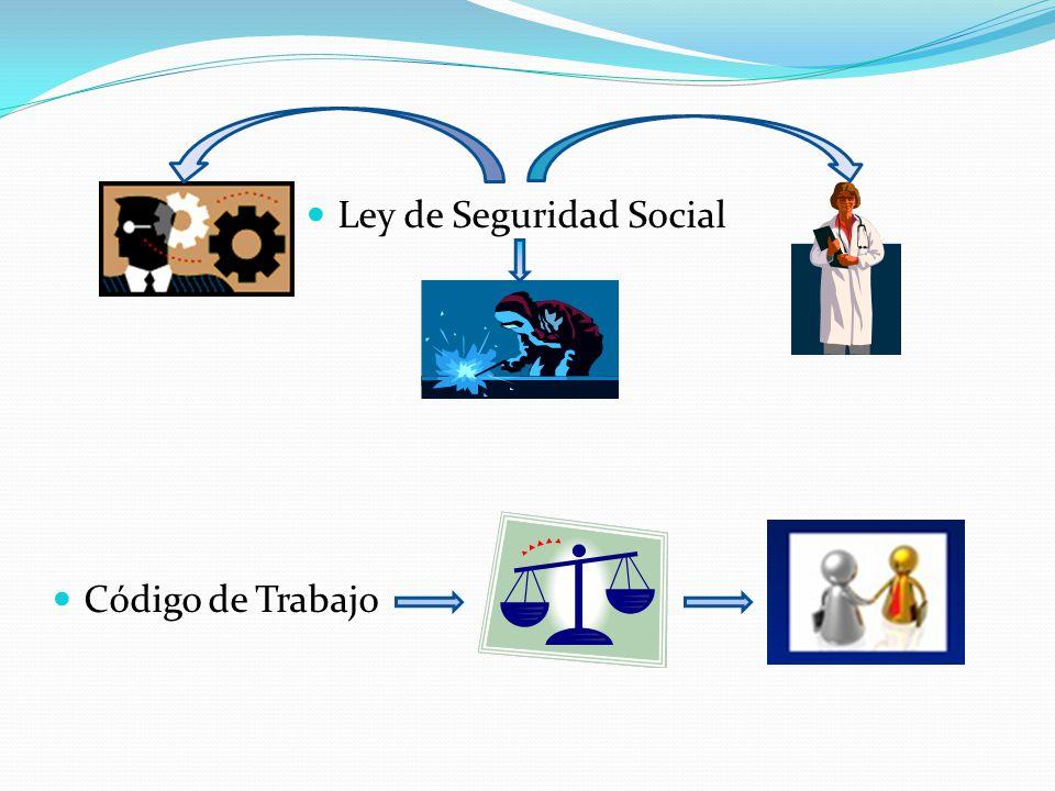 Ley de Seguridad Social Código de Trabajo