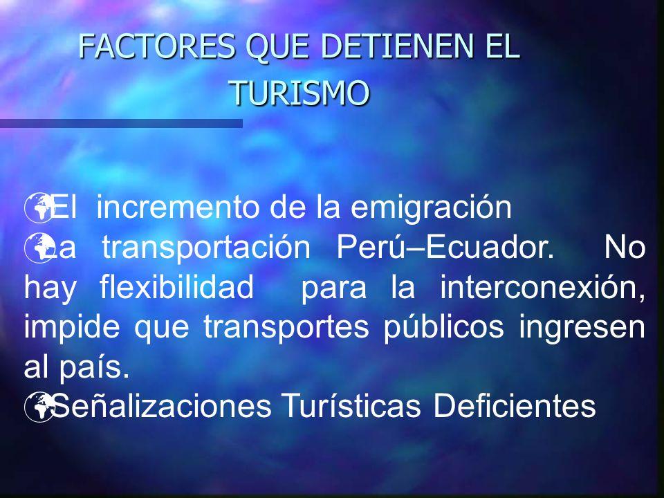 TURISMO EN EL ORO 5849,7 KM2