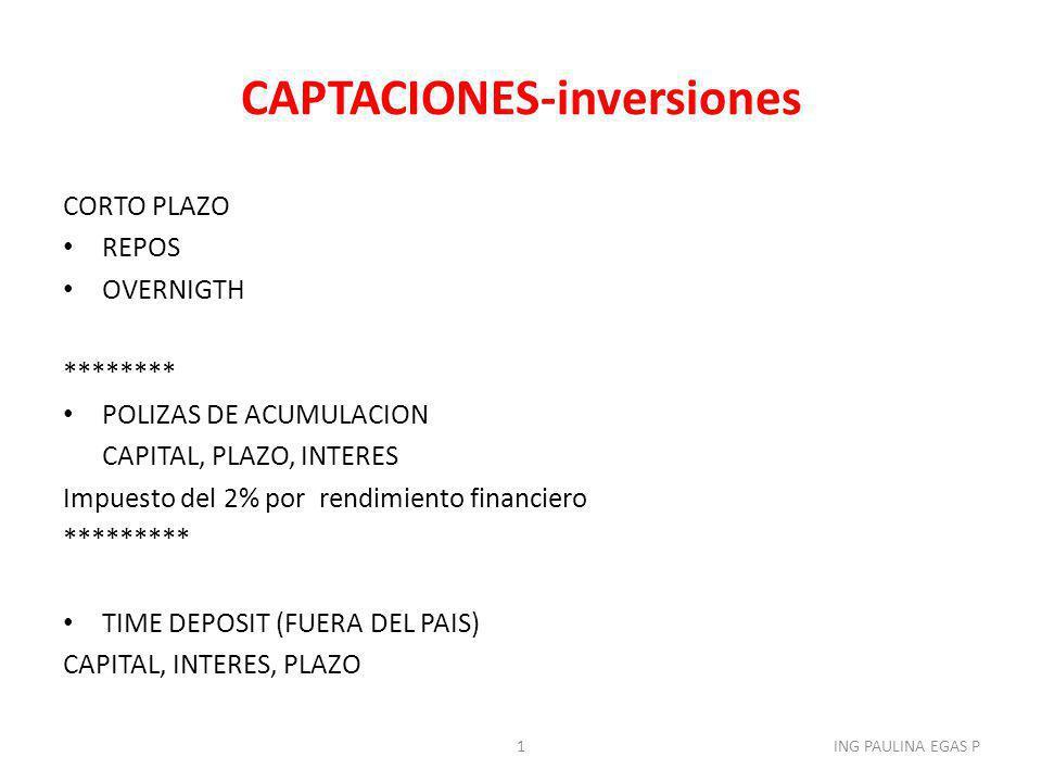 PORTAFOLIO DE INVERSION 2ING PAULINA EGAS P