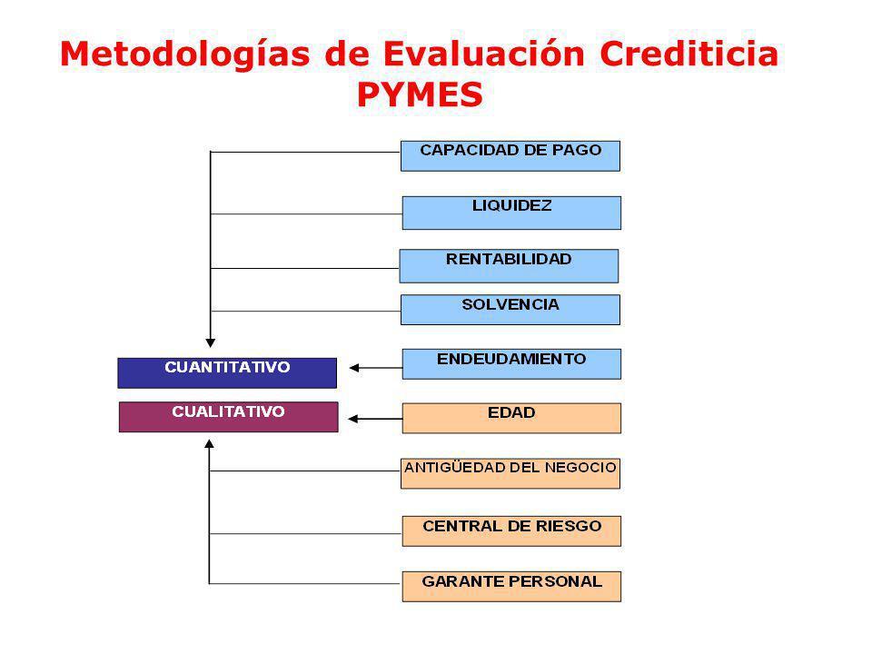 Ec. Ramiro Estrella C. Gestión de Riesgo Metodologías de Evaluación Crediticia PYMES