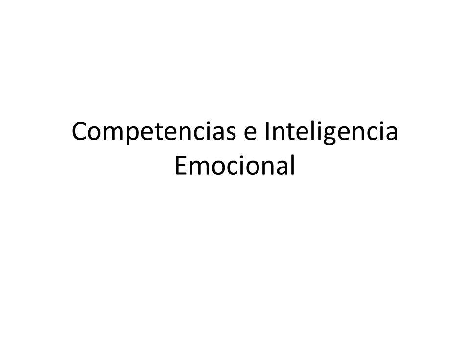 Competencias e Inteligencia Emocional