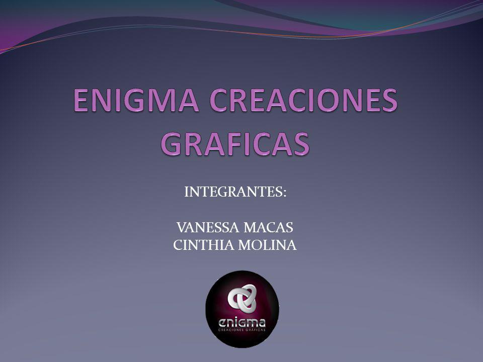 INTEGRANTES: VANESSA MACAS CINTHIA MOLINA