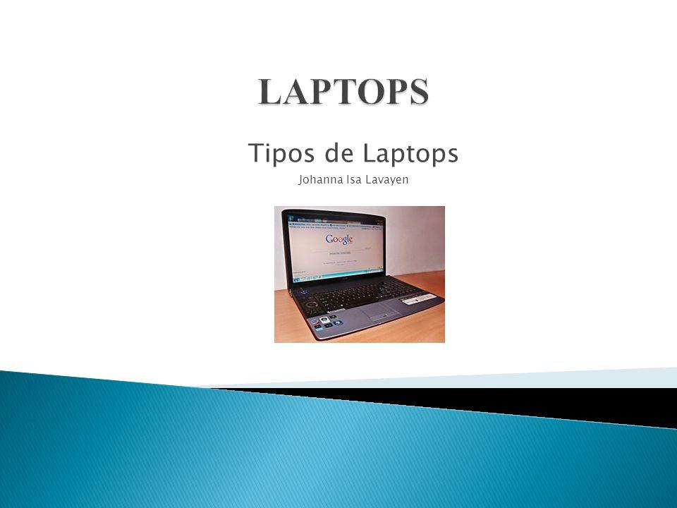 Tipos de Laptops Johanna Isa Lavayen
