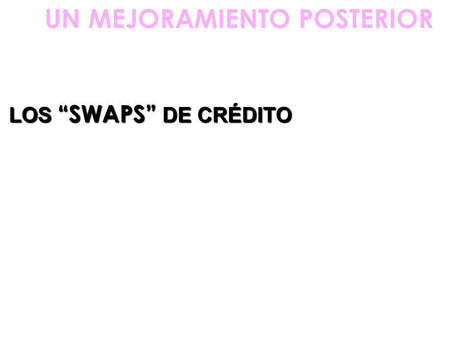 LOS SWAPS DE CRÉDITO