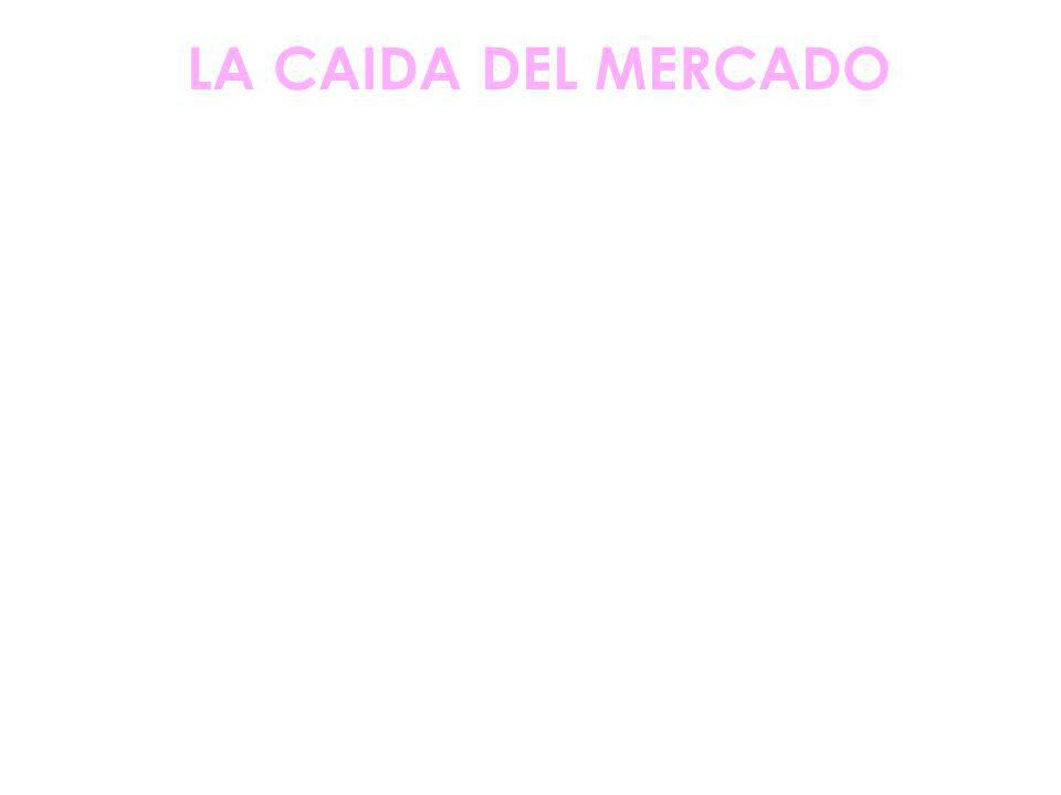 LA CAIDA DEL MERCADO
