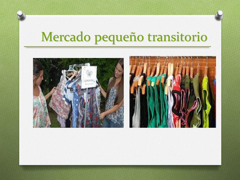 Mercado pequeño transitorio