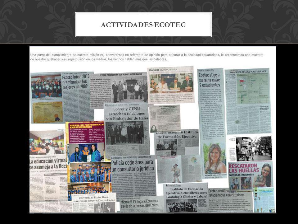 ACTIVIDADES ECOTEC